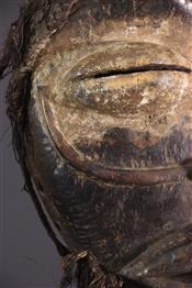 Masque africainMasque Wobé