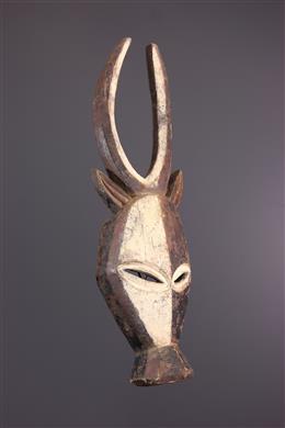 Art africain - Masque zoomorphe Kwele Ekuk