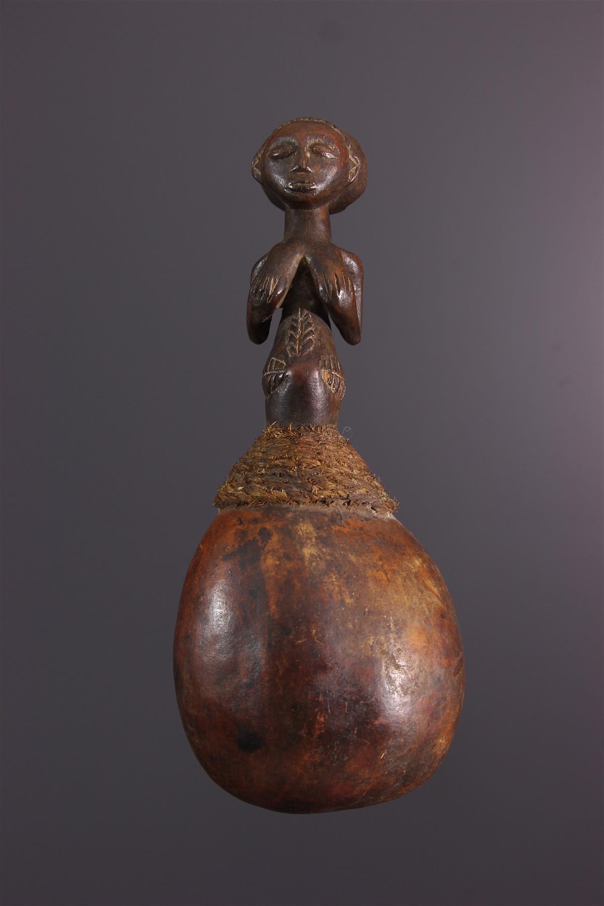 Calebasse Luba - Art africain