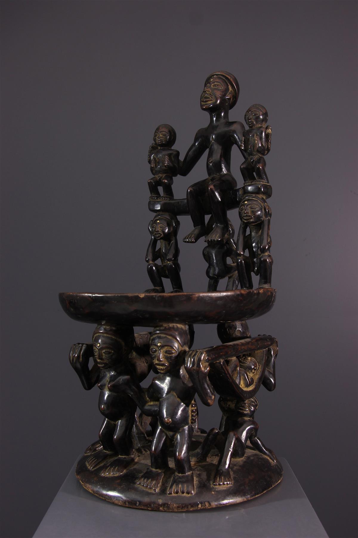 Assise Chokwe - Art africain