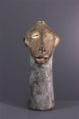 Tête Zimba - Art africain