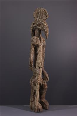 Statue anthropozoomorphe Bobo du Mali