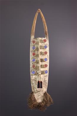 Art africain - Grand masque Grebo/Kru