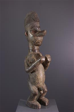 Art africain - Boite anthropomorphe Yaka Kumbu di mpemba