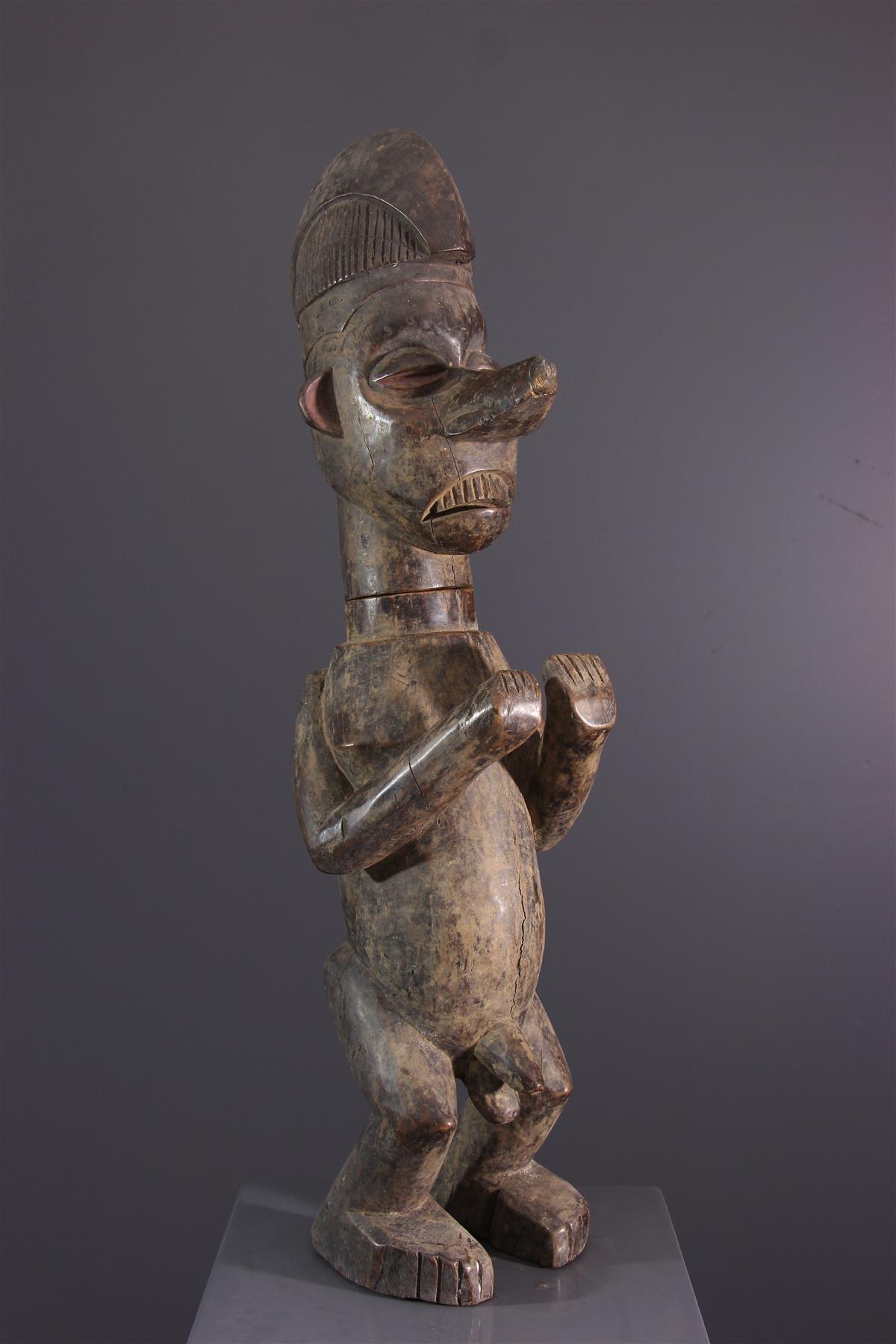 Boite Yaka - Art africain