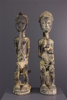 Statues Baoule - Art africain