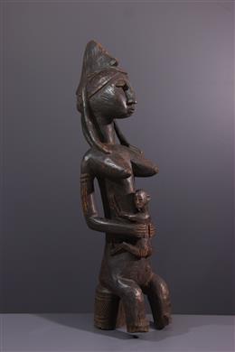 Figure de reine Bambara