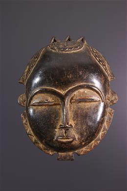 Art africain - Masque lune Baoulé /Yohouré