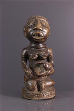 Art africain - Statuette maternité Yombe Pfemba