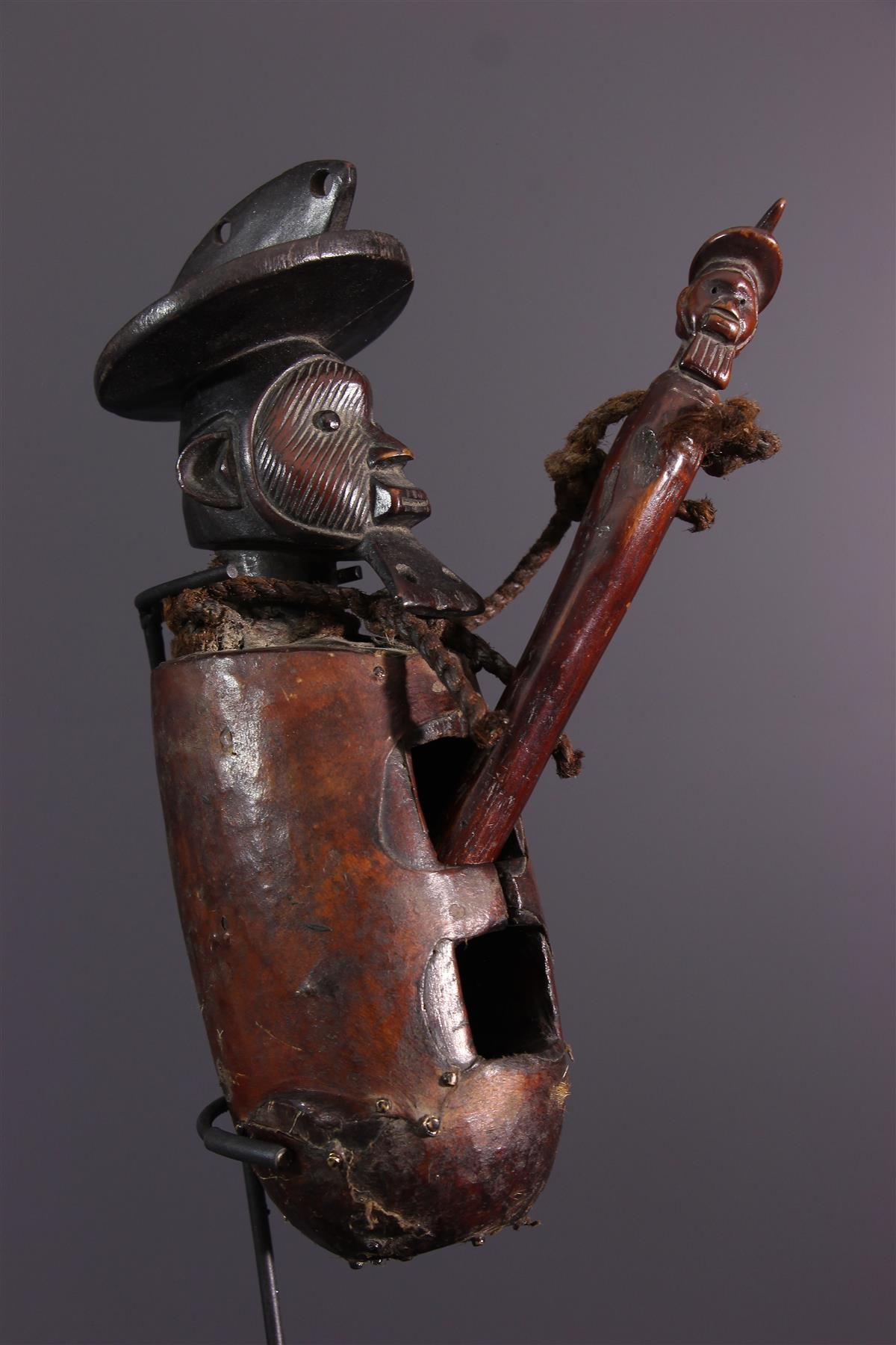 Tambour Téké - Art africain