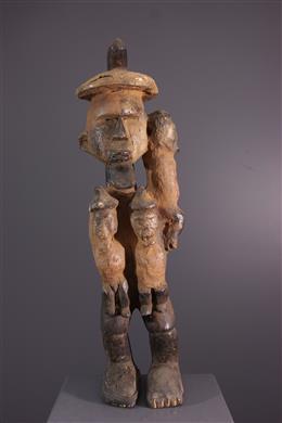 Art africain - Figure protectrice Teke Biteke