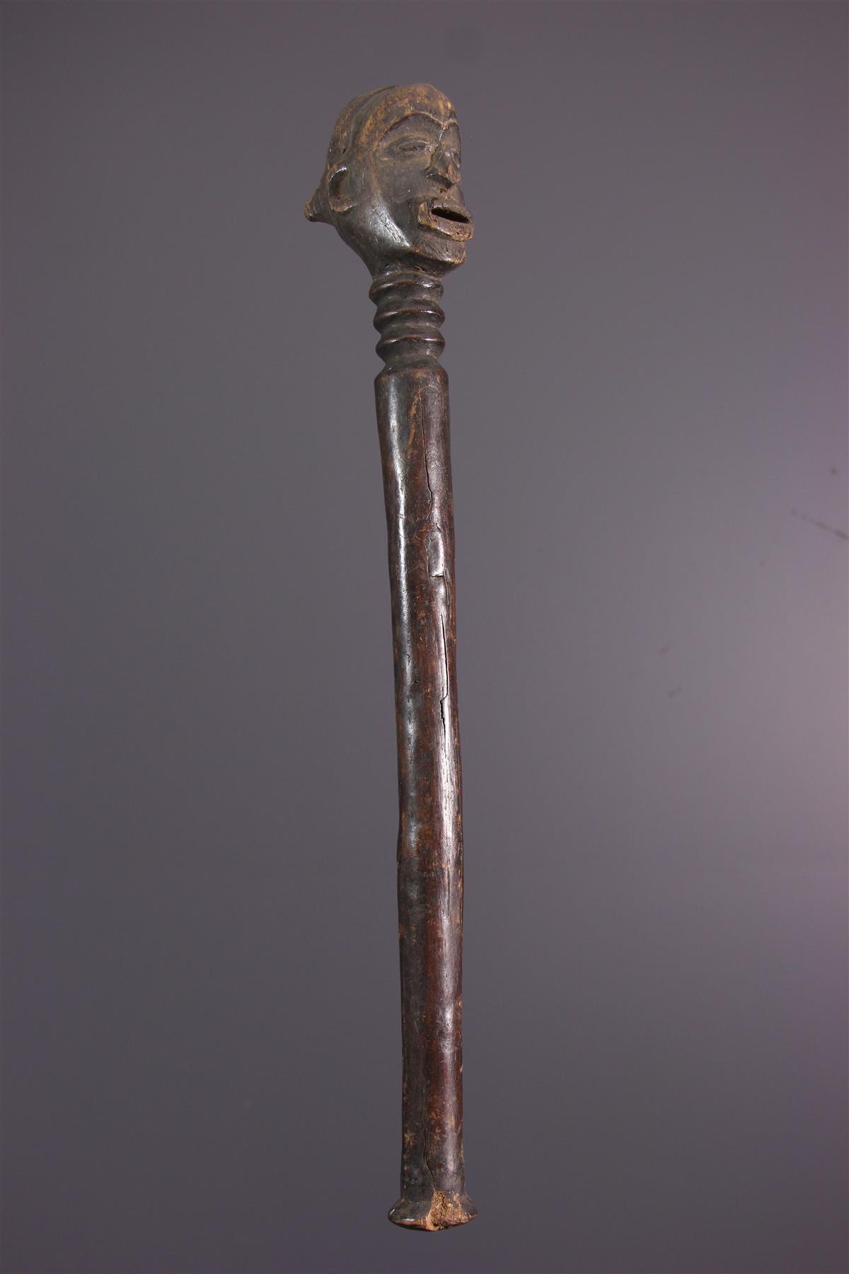 Sceptre Lulua - Art africain