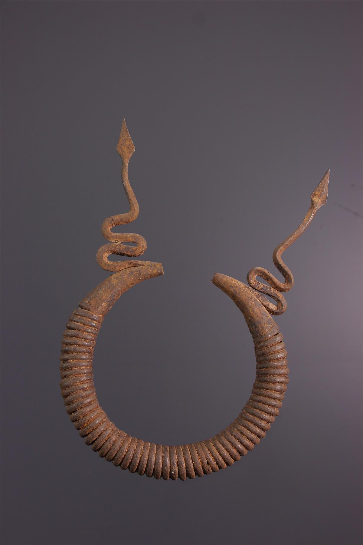 Monnaie Mumuye - Art africain