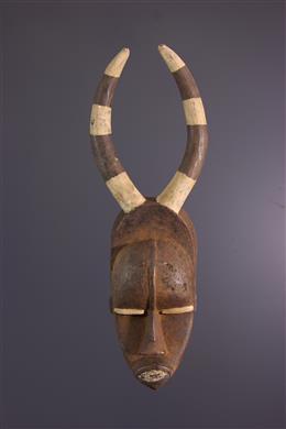 Art africain - Masque Urhobo  Ohworu