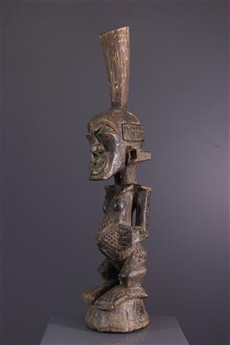Art africain - Statue fétiche Nkishi des Songye