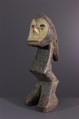 Art africain - Statuette  Nkumba Lega du Bwami