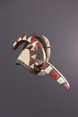Art africain - Masque casque Mossi