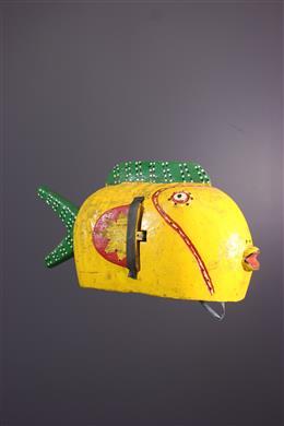 Masque marionnette poisson Bozo