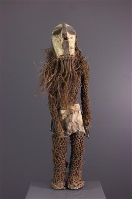Figure de danseur masqué  Kikashi Songye