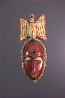 Art africain - Masque Yaouré, Yohoure, Lomane