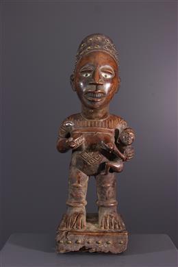Art africain - Figure de maternité Kongo Pfemba