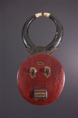 Art africain - Masque Kplé Kplé du Goli Baule