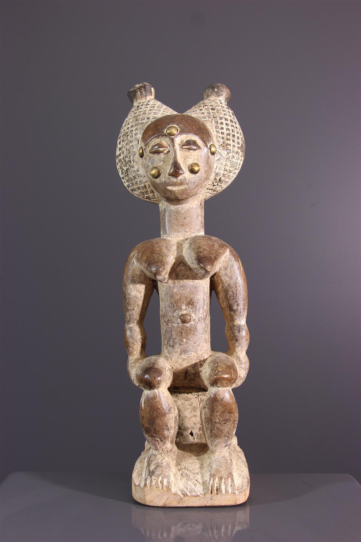 Statuette Attié - Art africain