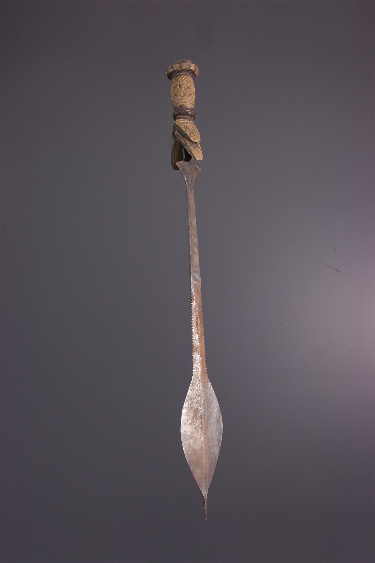 Epée Kuba - Art africain