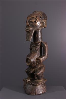 Art africain - Statue dancêtre Songye