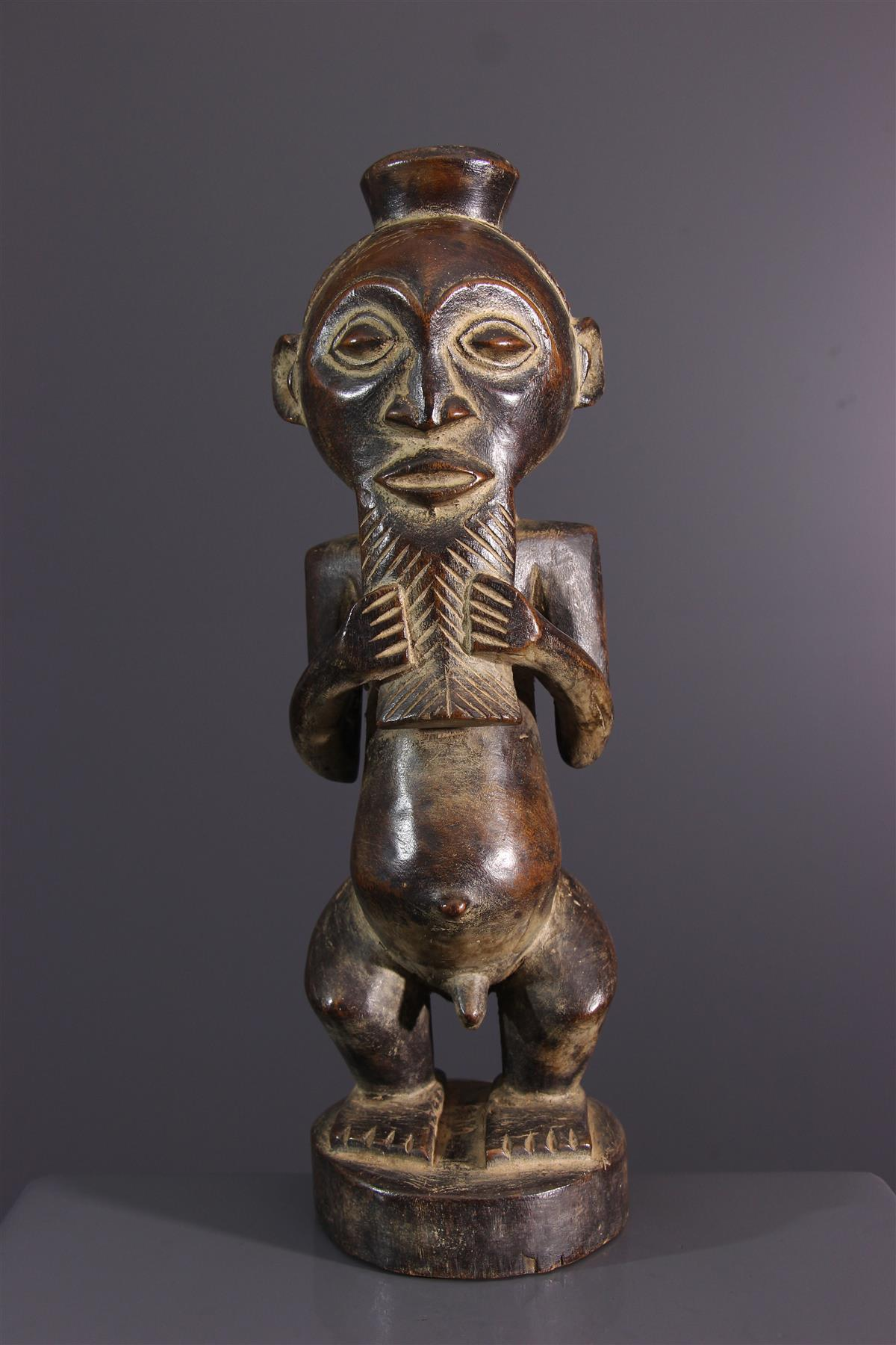 Statuette Kusu - Art africain