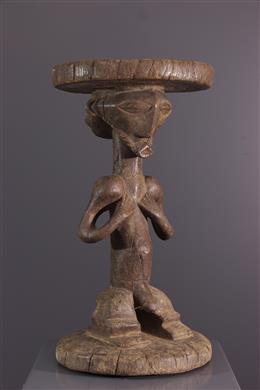 Tabouret Basikassingo - Art africain