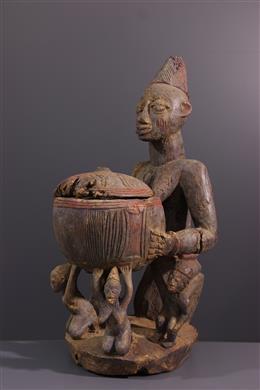 Coupe Yoruba - Art africain
