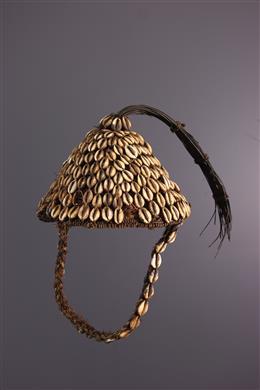 Art africain - Coiffe Lega du Bwami Mukaba