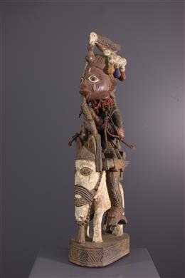 Art africain - Figure de cavalier Yoruba