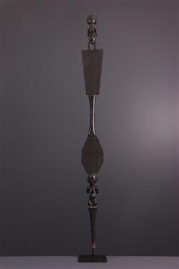 Sceptre Luba - Art africain