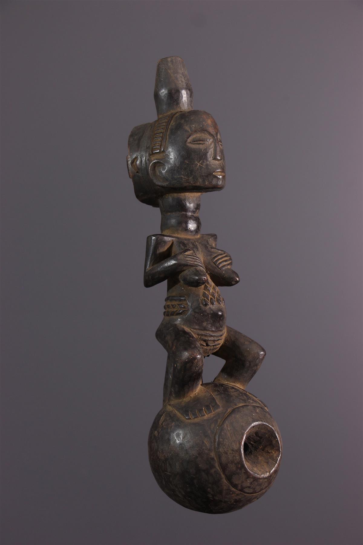 Pipe Luba - Art africain