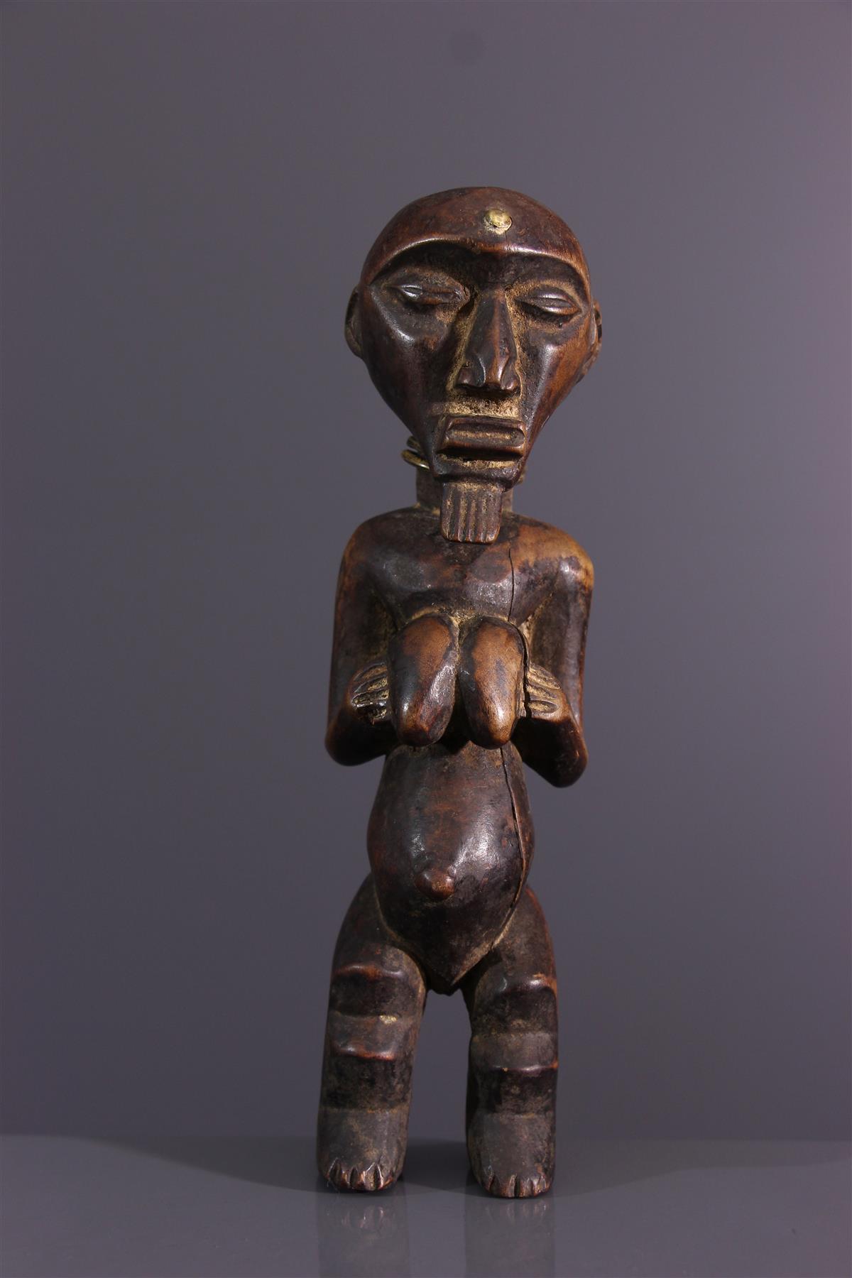 Statuette Suku - Art africain