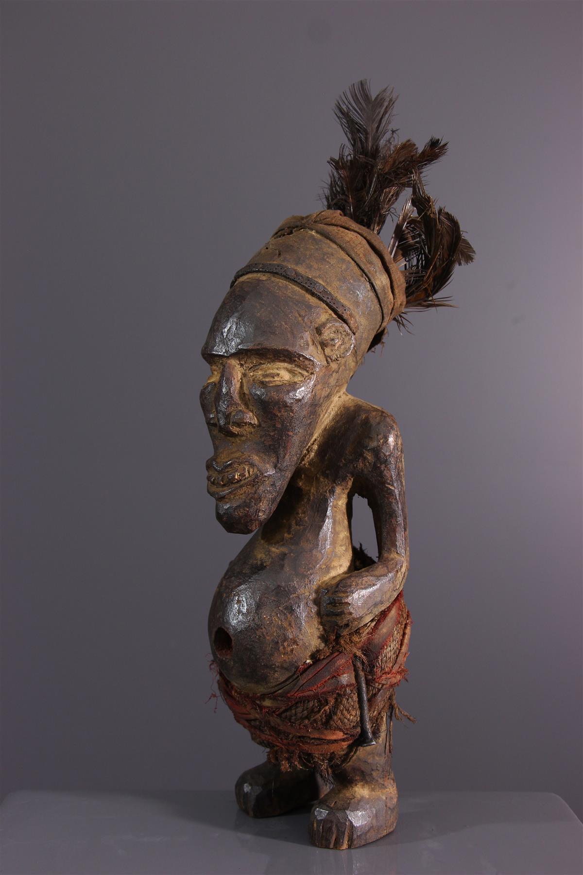 Statuette Kakongo - Art africain