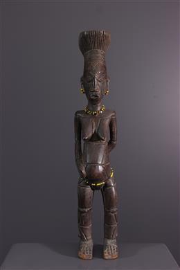 Figure féminine Mangbetu Beli