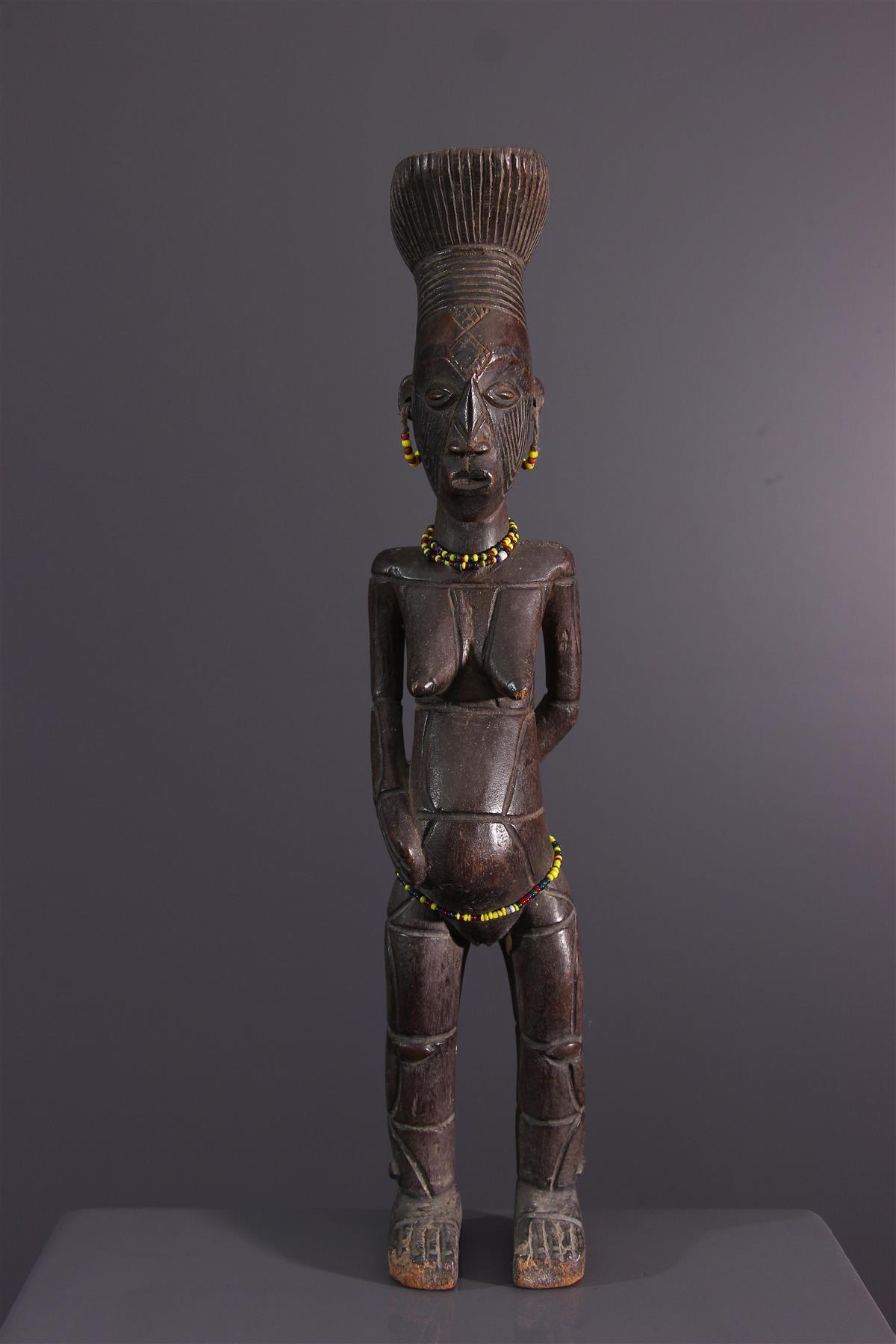 Statuette Mangbetu - Art africain