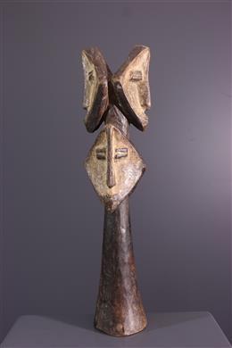 Statuette Multi-têtes - Art africain