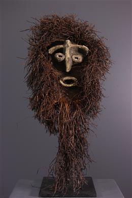 Masque en fibres Chokwe / Lwena