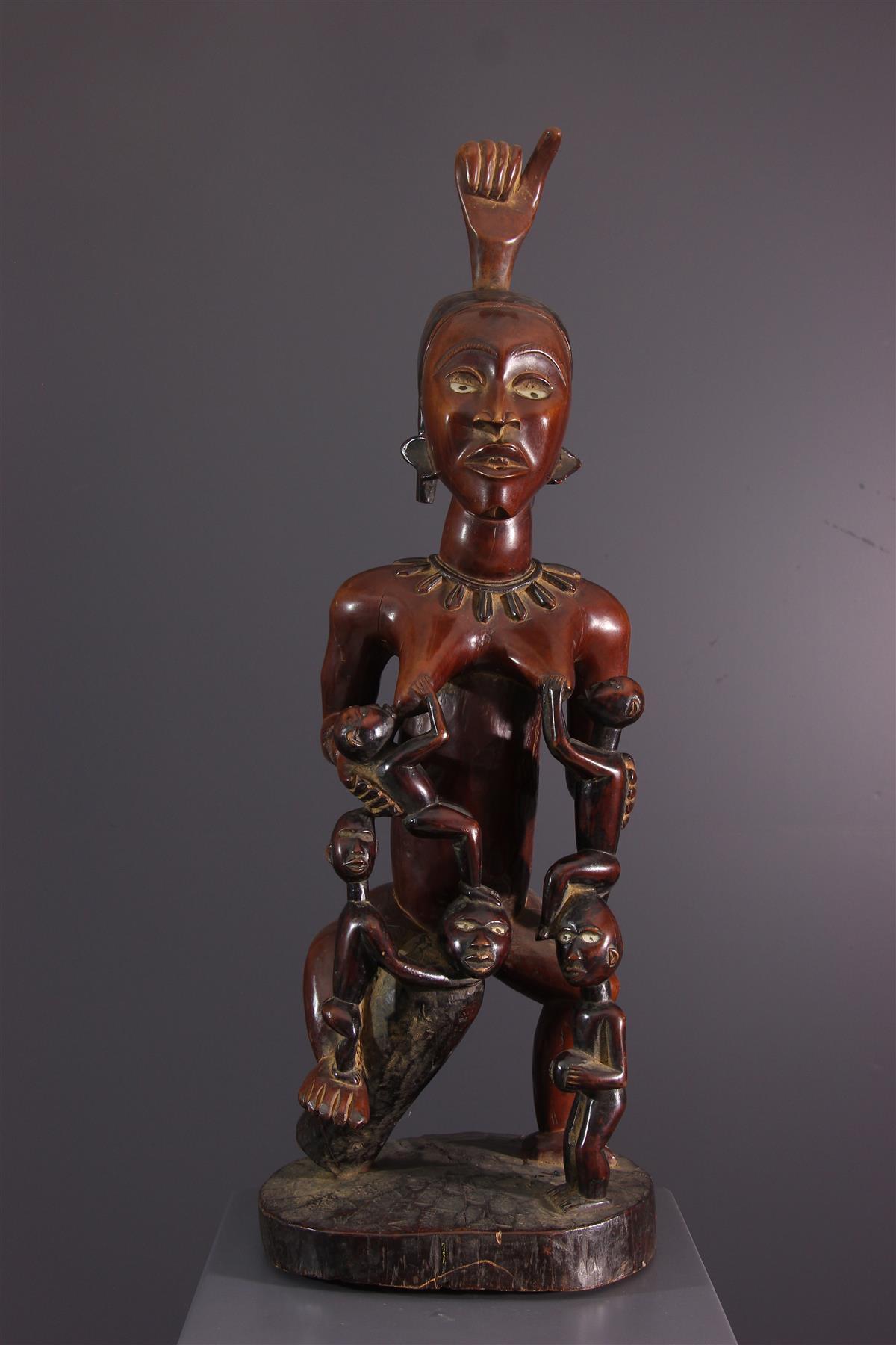 Maternité Kongo - Art africain