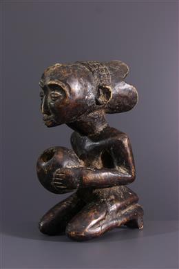Art africain - Porteuse de coupe Luba