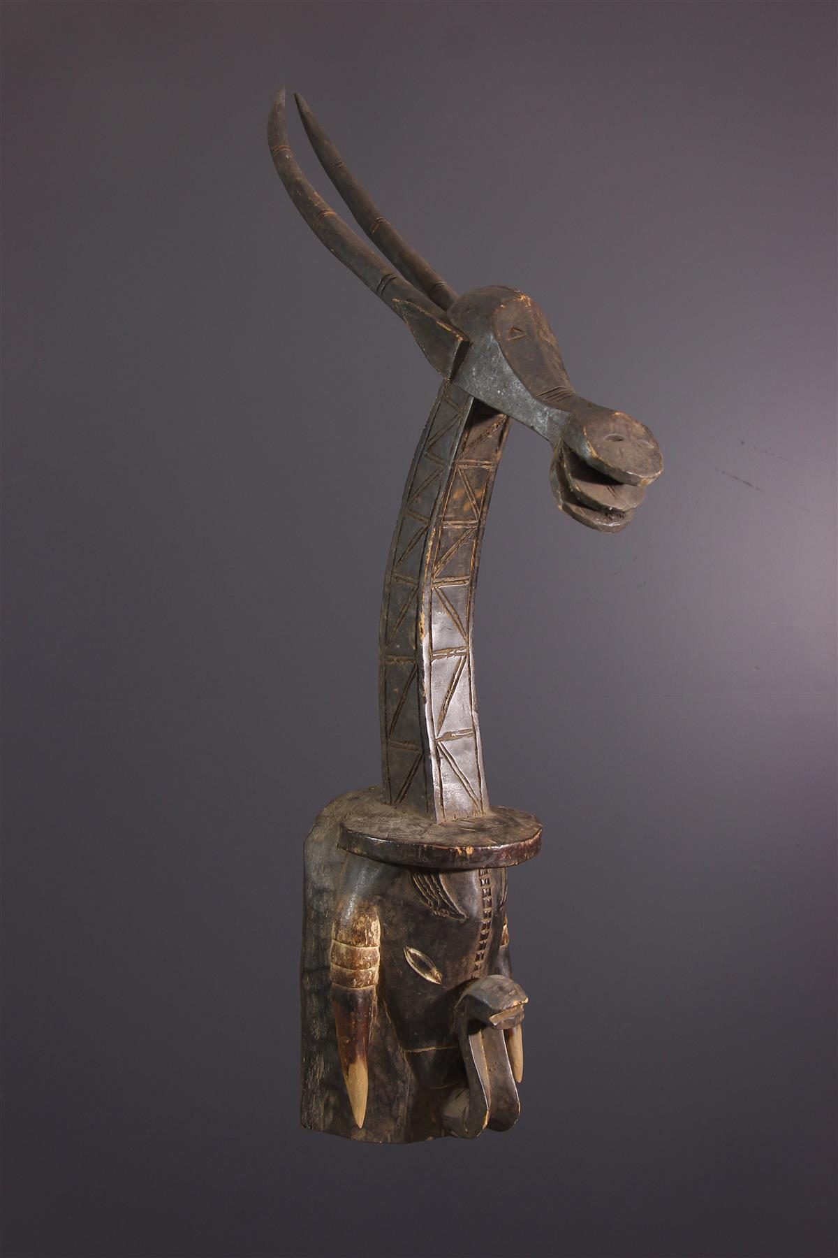 Masque Gouro - Art africain
