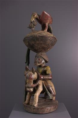 Art africain - Coupe Agere Ifa Yoruba