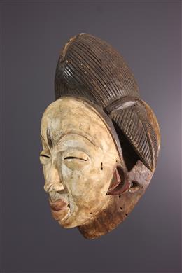 Art africain - Masque Punu de lOkuyi