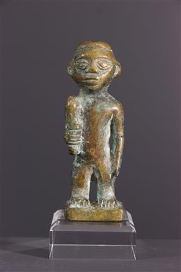 Statuette Kongo en bronze