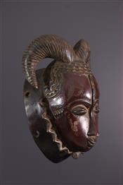 Masque africainMasque Baoulé