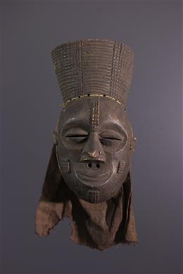Art africain - Masque Lwena Mukishi wa Pwo